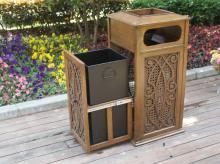 fBH-f铸铝垃圾桶1