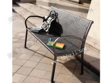 BH--达拉斯全铁藤编公园椅3